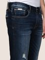 ARMANI EXCHANGE DESTROYED DARK INDIGO SLIM-FIT JEANS Slim fit JEANS Man b