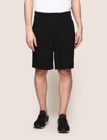 ARMANI EXCHANGE CIRCLE LOGO COLORBLOCK SWEATSHORTS Shorts Man f