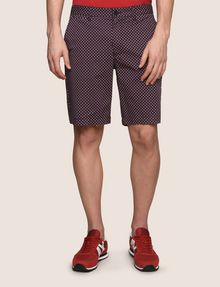 ARMANI EXCHANGE PRINTED CHINO SHORTS Chino Short Man f