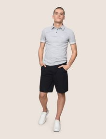 ARMANI EXCHANGE SEERSUCKER SHORTS Shorts Man d