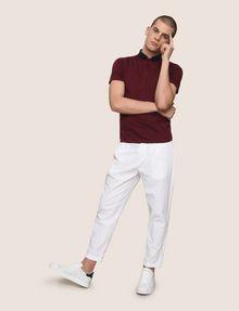 ARMANI EXCHANGE PLEAT-FRONT SEERSUCKER PANTS Dress Pant Man d
