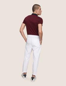 ARMANI EXCHANGE PLEAT-FRONT SEERSUCKER PANTS Dress Pant Man e