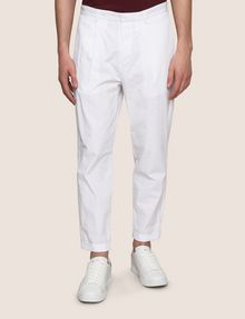 ARMANI EXCHANGE PLEAT-FRONT SEERSUCKER PANTS Dress Pant Man f