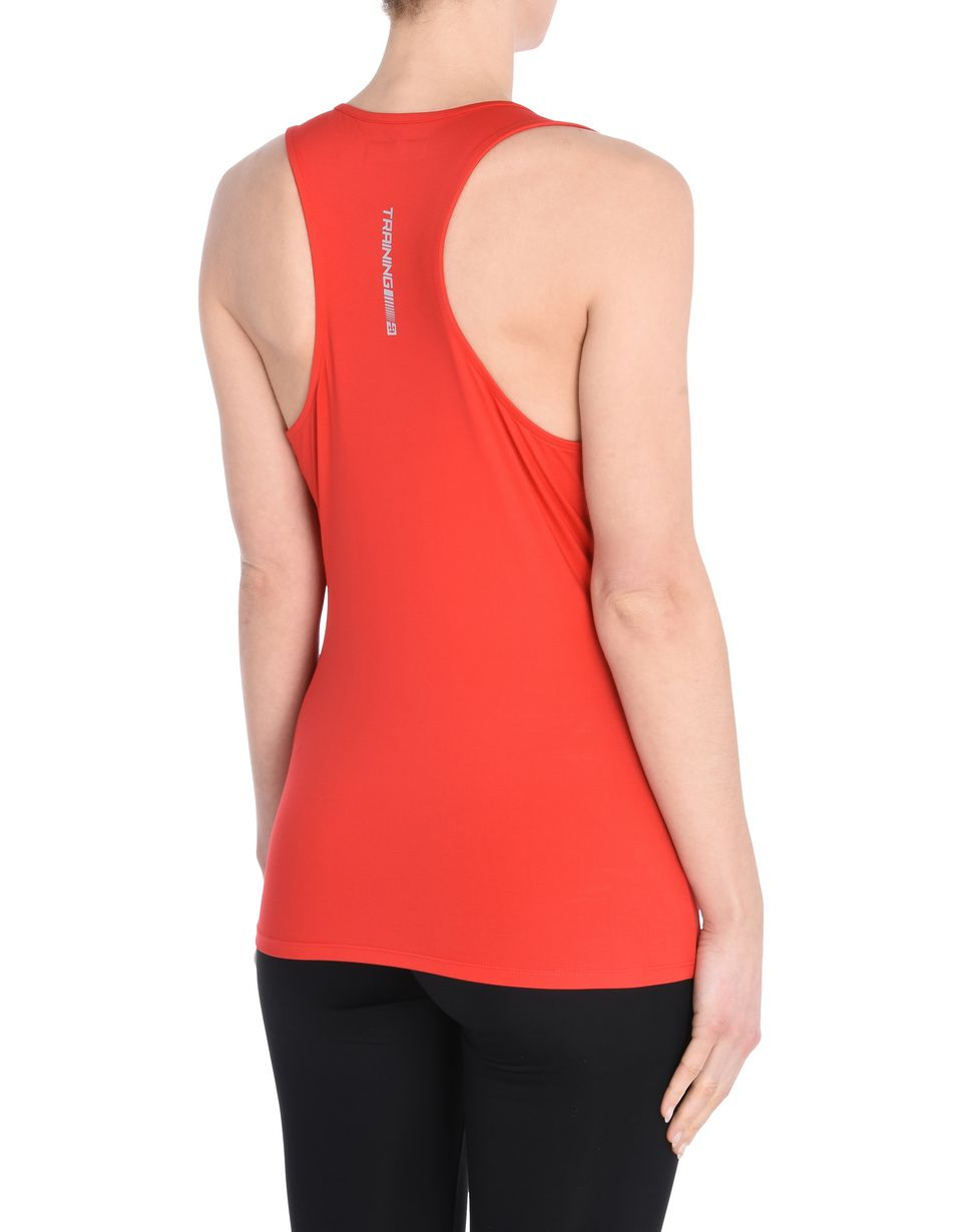 Scuderia Ferrari Online Store - Women's sports top in breathable fabric - Tank Tops