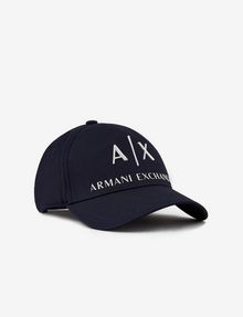 ARMANI EXCHANGE CLASSIC LOGO EMBROIDERY HAT Hat Man f