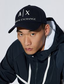 ARMANI EXCHANGE CLASSIC LOGO EMBROIDERY HAT Hat Man r