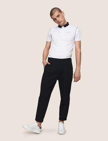 ARMANI EXCHANGE PLEAT-FRONT SEERSUCKER PANTS Dress Pant Man a