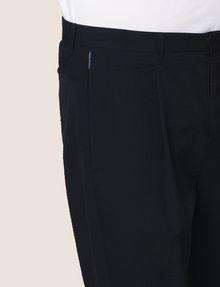 ARMANI EXCHANGE PLEAT-FRONT SEERSUCKER PANTS Dress Pant Man b