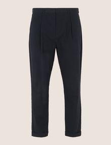 ARMANI EXCHANGE PLEAT-FRONT SEERSUCKER PANTS Dress Pant Man r