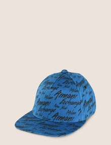 ARMANI EXCHANGE CITY SCRIPT LOGO HAT Hat Man f