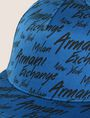 ARMANI EXCHANGE CITY SCRIPT LOGO HAT Hat Man d