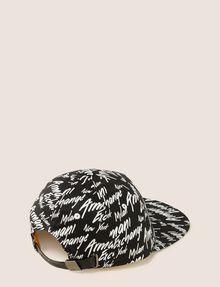 ARMANI EXCHANGE CITY SCRIPT LOGO HAT Hat Man r