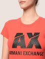 ARMANI EXCHANGE Logo-T-Shirt Damen b