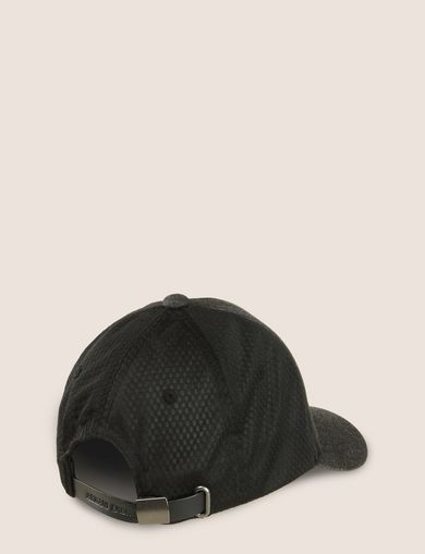 LOGO APPLIQUE DENIM/MESH HAT