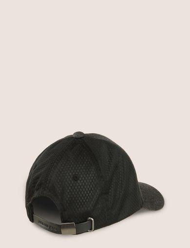 LOGO APPLIQUE DENIM/MESH HAT