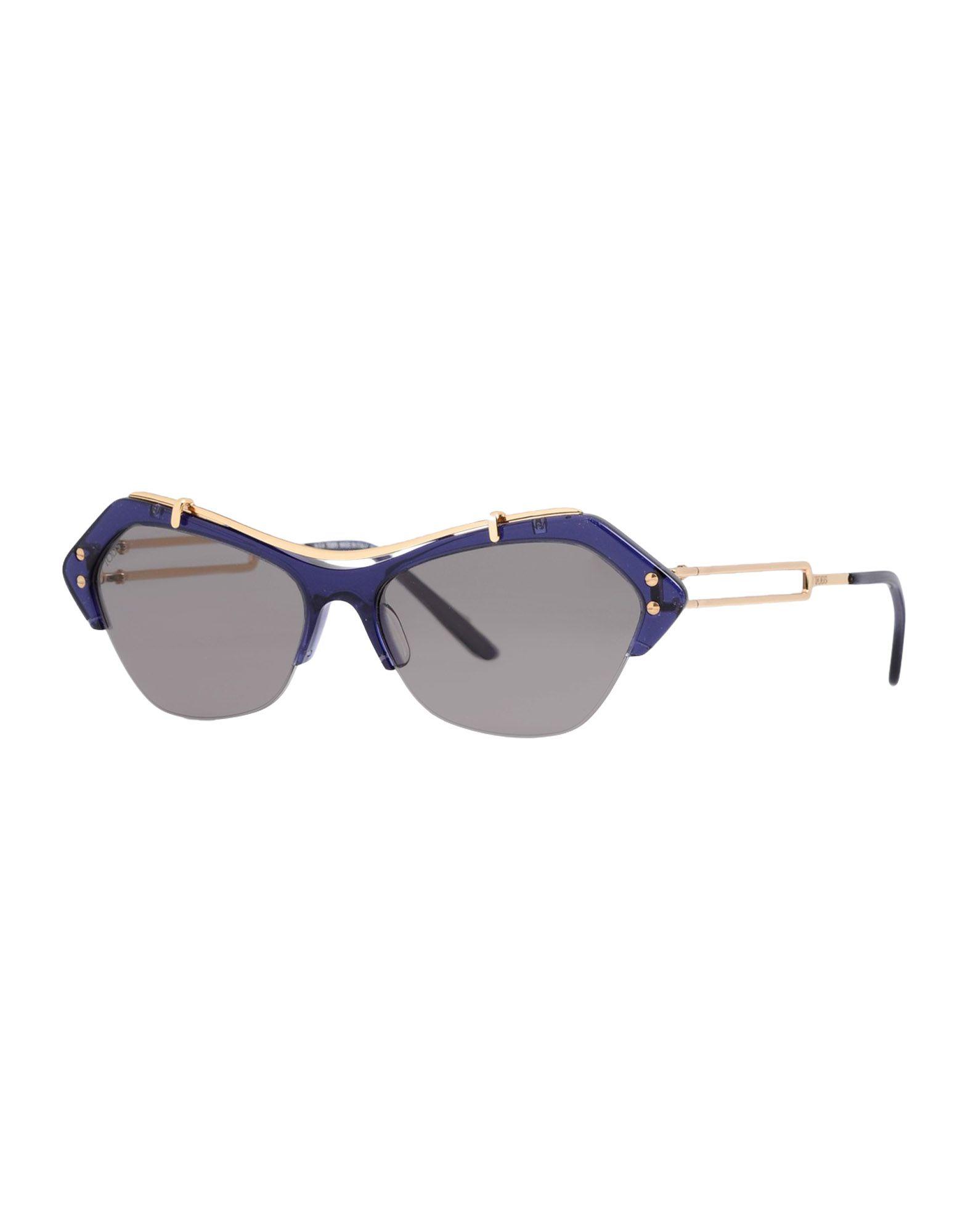 TOD'S Солнечные очки бусы из янтаря солнечные ежики