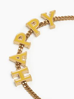 "Chloé Messages ""HAPPY"" bracelet"