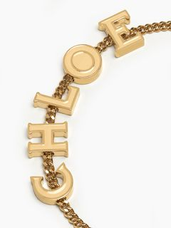 "Chloé Messages ""CHLOE"" bracelet"