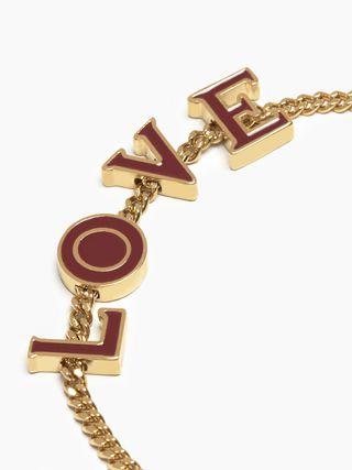 """Chloé Messages """"LOVE"""" bracelet"""