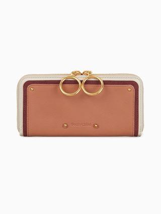 Miya long zipped wallet