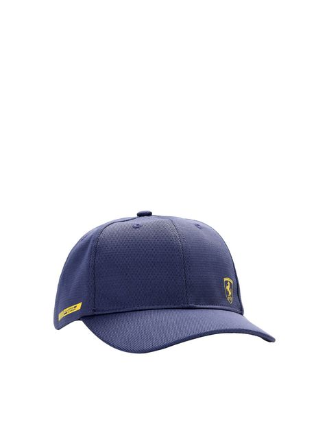 Children's cap with visor in breathable technical fabric