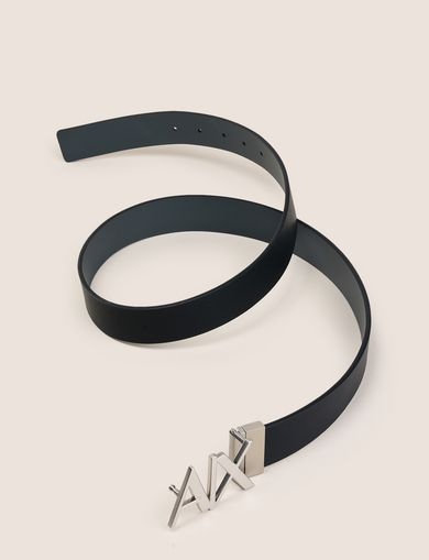 REVERSIBLE CUTOUT LOGO BELT