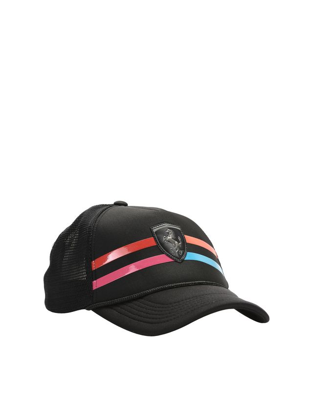 Scuderia Ferrari Online Store - Women's visor cap with Shield - Baseball Caps