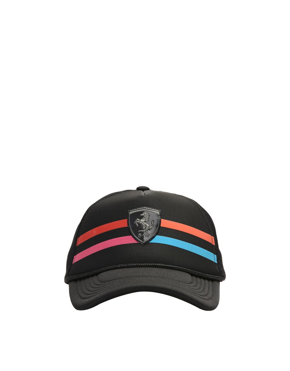 Scuderia Ferrari Online Store - Women's visor cap with Shield - Baseball Caps