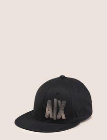 ARMANI EXCHANGE METALLIC PLACED PRINT HAT Hat Woman f