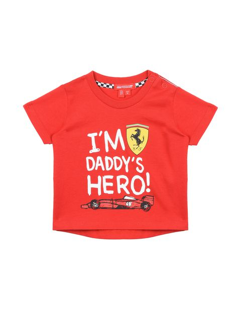 T-shirt for infants with printed wording
