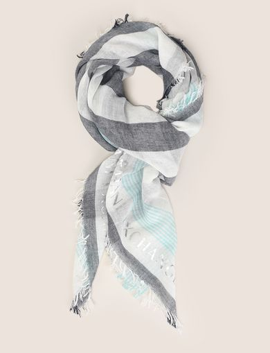 NAUTICAL STRIPE SQUARE SCARF