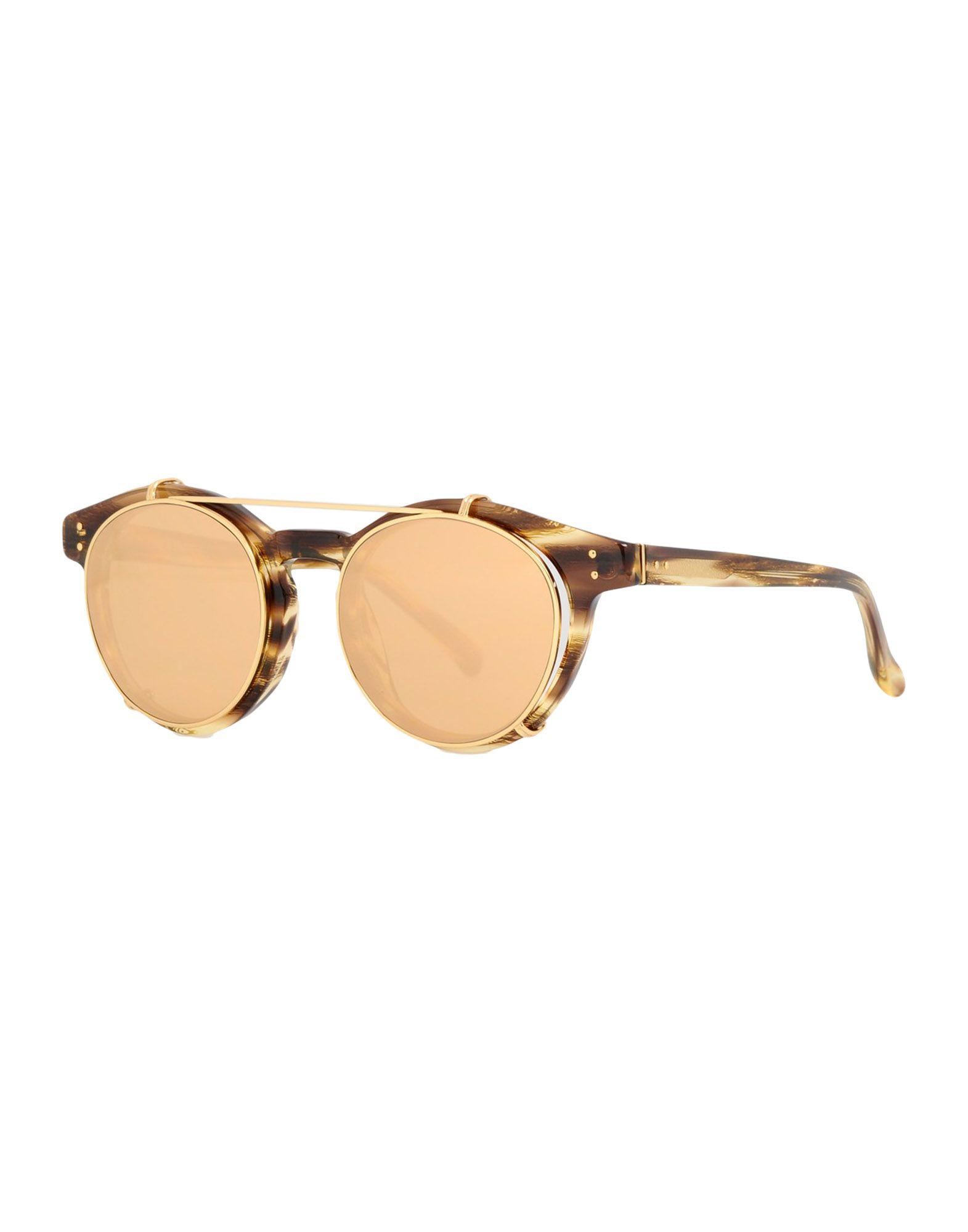 LINDA FARROW Солнечные очки linda farrow with matthew williamson солнечные очки