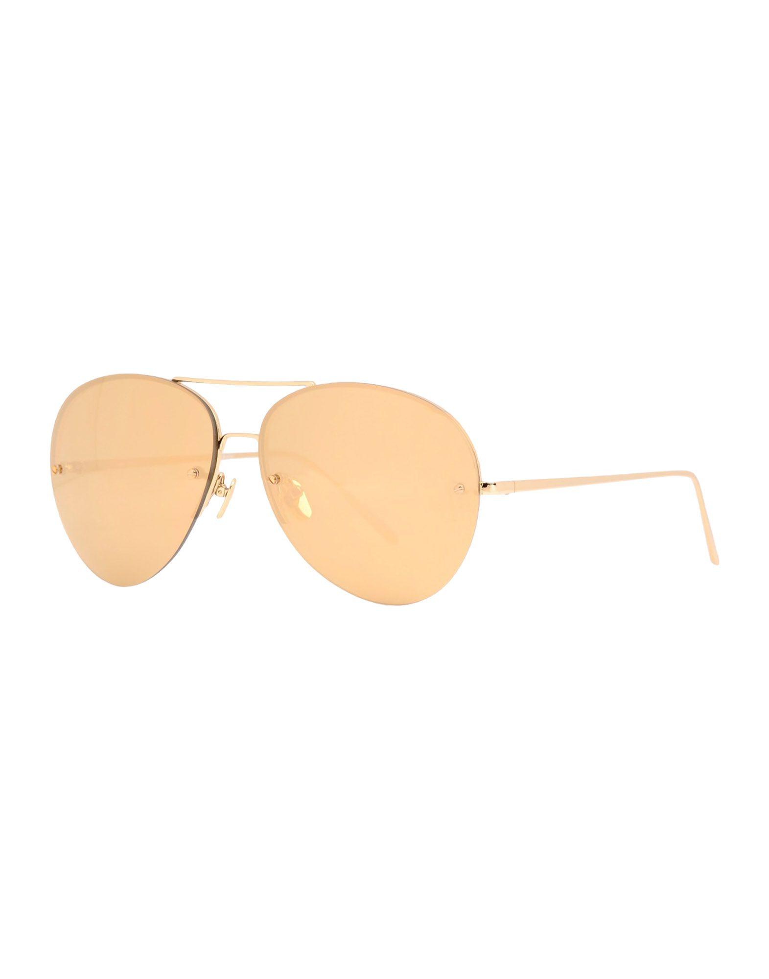 LINDA FARROW Солнечные очки linda farrow luxe солнечные очки