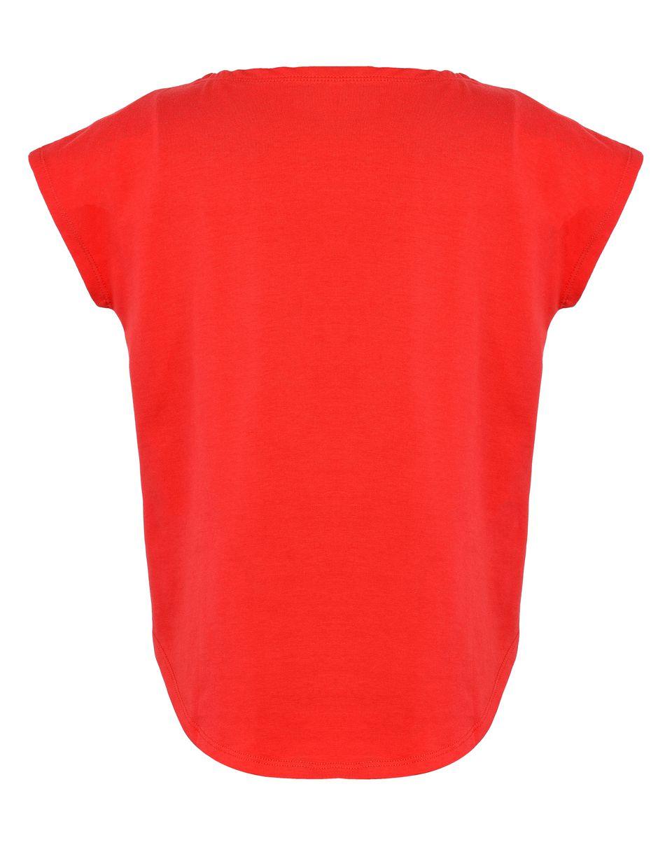 Scuderia Ferrari Online Store - T-shirt fille avec Scudetto - T-shirts à manches courtes