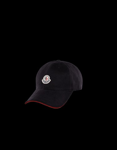 BASEBALL HAT Black Category Hats Man