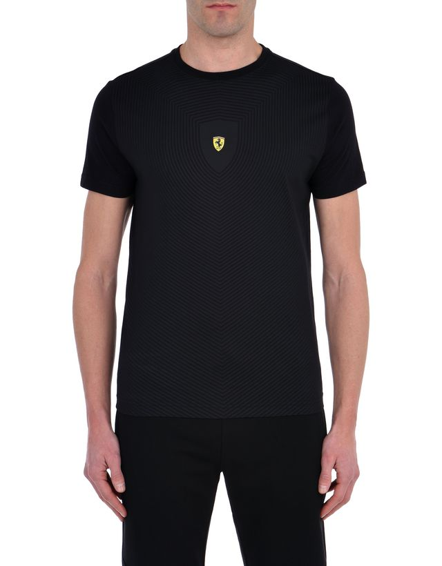 Scuderia Ferrari Online Store - Men's short-sleeve T-shirt with all-over print - Short Sleeve T-Shirts