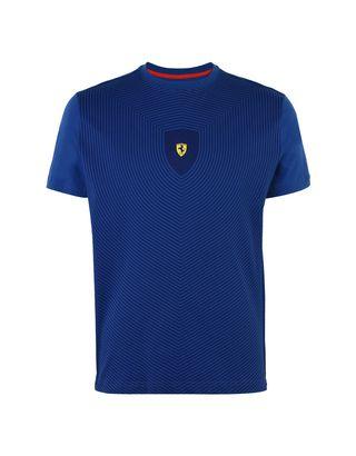 Scuderia Ferrari Online Store - Men's short-sleeve T-shirt with all-over print - Short Sleeve T-Shirts