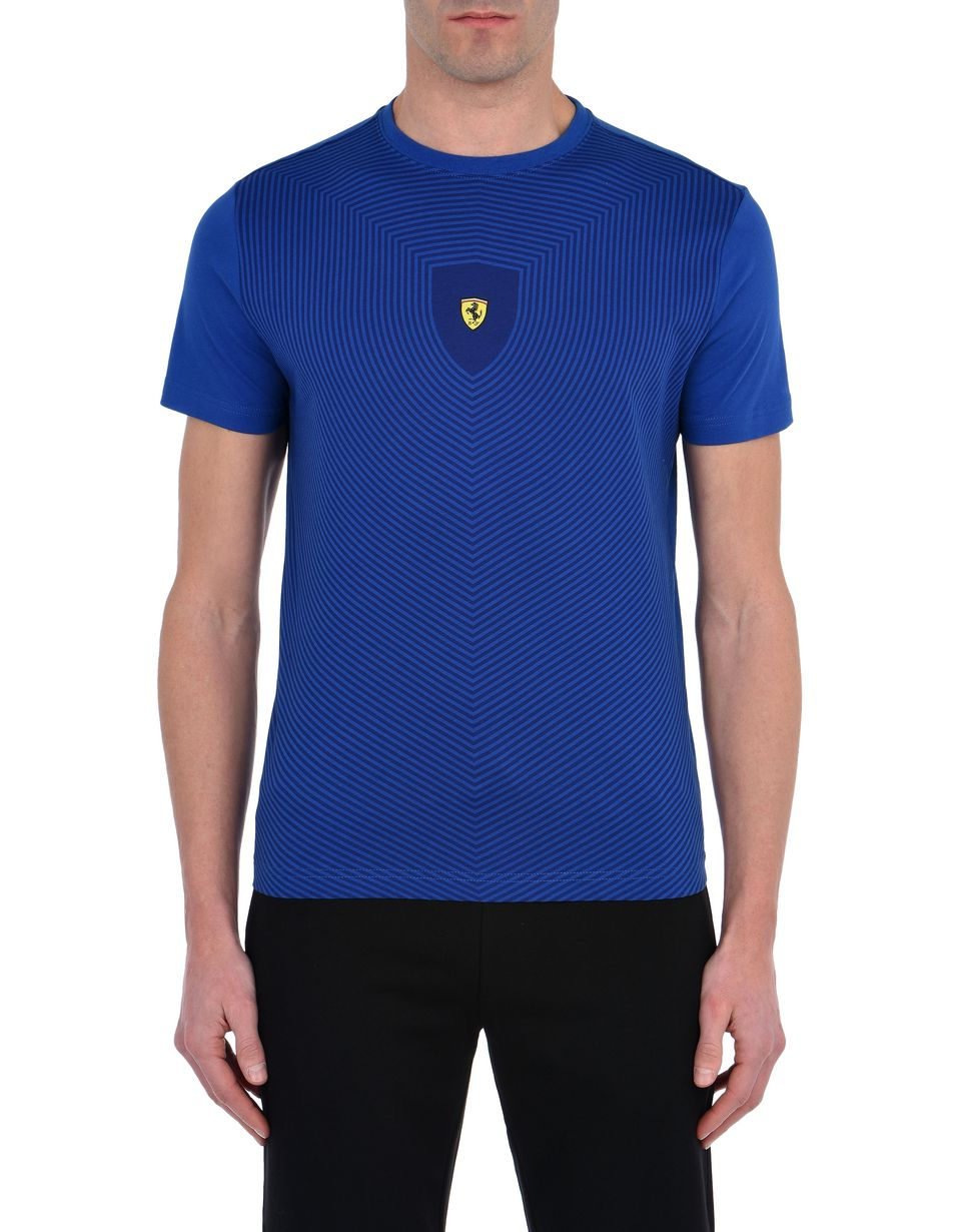 Scuderia Ferrari Online Store - Men's short-sleeve T-shirt with all-over print -