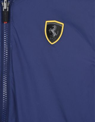 Scuderia Ferrari Online Store - Reversible waterproof jacket for teens - Bombers & Track Jackets