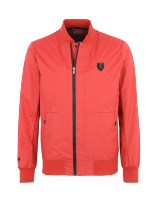 Scuderia Ferrari Online Store - Men's rain jacket with 3000 mm waterproof finish -