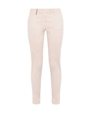 Scuderia Ferrari Online Store - Women's slim- fit trousers with Scuderia Ferrari label - Chinos