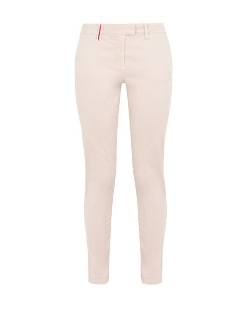 Scuderia Ferrari Online Store - Women's slim- fit pants with Scuderia Ferrari label - Chinos