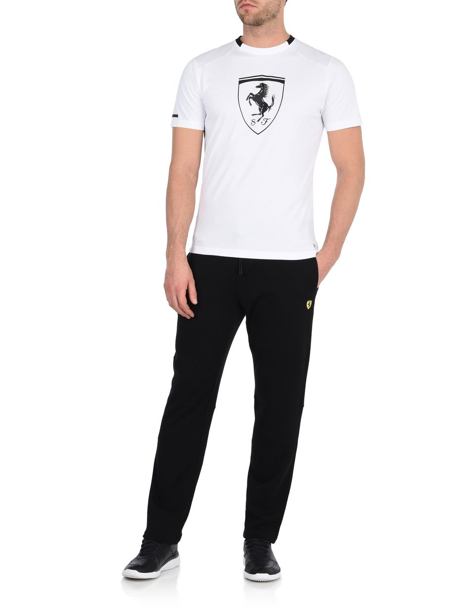 Scuderia Ferrari Online Store - Men's sweatpants with Shield -