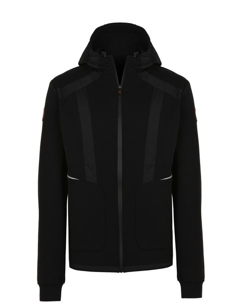 Scuderia Ferrari Online Store - Men's full-zip scuba hooded sweatshirt - Zip Hood Jumpers