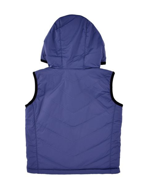 Reversible padded gilet for teens with Ferrari Shield