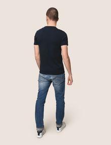 ARMANI EXCHANGE UTILITY LINES LOGO TEE Logo T-shirt Man e