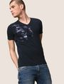 ARMANI EXCHANGE UTILITY LINES LOGO TEE Logo T-shirt Man a