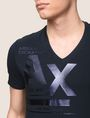 ARMANI EXCHANGE UTILITY LINES LOGO TEE Logo T-shirt Man b