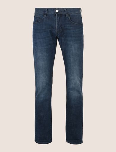 SLIM-FIT DARK INDIGO CLASSIC JEANS