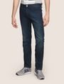 ARMANI EXCHANGE SLIM-FIT DARK INDIGO CLASSIC JEANS SLIM FIT JEANS Man f